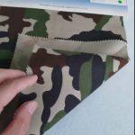 Modeli i kamuflimit 80/20 pëlhurë pambuku poliestër twill pëlhurë për uniformë ushtarake
