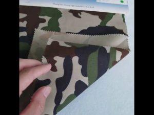 Modeli i kamuflimit 8020 pëlhurë pambuku poliestër twill për uniformë ushtarake