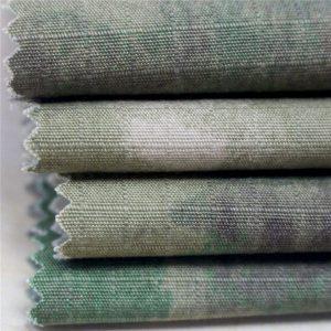 Shtypi Ushtarak Antistatik Pëlhurë Ripstop pambuku për Garment të Ushtrisë
