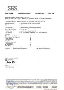 Pëlhurë e thurur me ngjyrë të errët të gjelbër për certifikatat SGS xhaketë