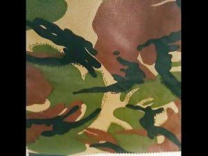 maskuar shtypur papërshkueshëm nga uji ripstop najloni oxford uniforme pëlhurë ushtarake