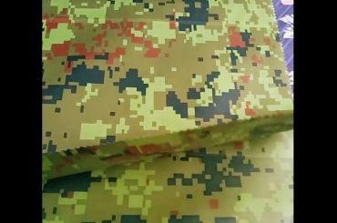 fabrikë porcelani me shumicë camouflage embossed veshje kundër shiut pëlhurë geotextile për pëlhurë në natyrë